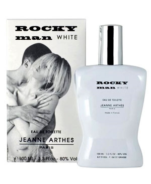 Rocky Man White Jeanne Arthes for men