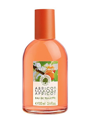 Les Plaisirs Nature Bergeron Apricot Yves Rocher for women