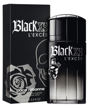 Black XS L'Exces for Him Paco Rabanne for men