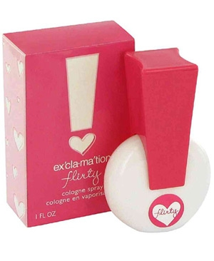 Ex`cla-ma`tion Flirty Coty for women