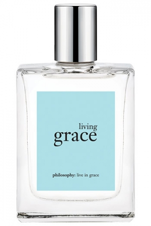 Philosophy Living Grace 4 oz Eau de Toilette Spray for Women Philosophy Living Grace is an ethereal, clean floral fragrance designed to help center a woman's mood, enabling her to fully embrace the beauty of living in the present moment each day.