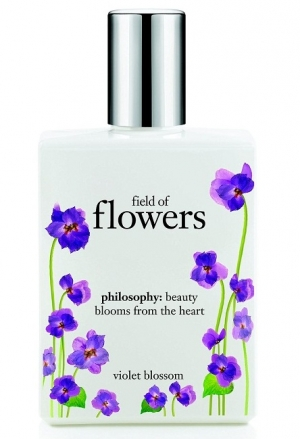 Field of Flowers Violet Blossom Philosophy for women