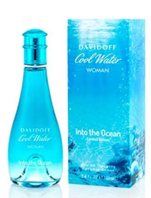 Cool Water Into The Ocean for Women Davidoff for women