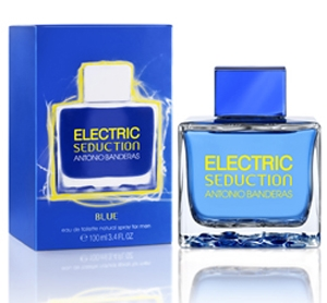 Electric Blue Seduction for Men Antonio Banderas for men