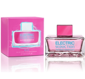 Electric Blue Seduction for Women Antonio Banderas for women
