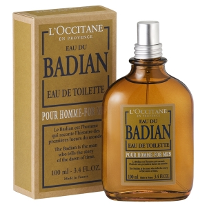 Eau du Badian L`Occitane en Provence for men