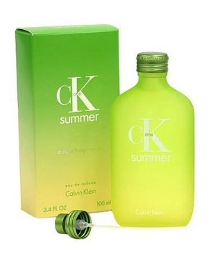 CK One Summer Calvin Klein for women and men