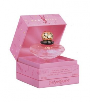 Baby Doll Music Box Collector 2007 Yves Saint Laurent for women