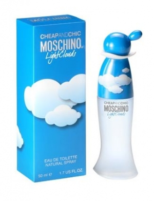Cheap & Chic Light Clouds Moschino for women