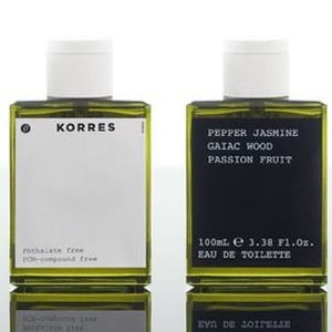 Pepper Jasmine Gaiac Wood Passion Fruit Korres for women and men