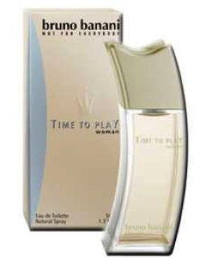 time to play women bruno banani parfum ein parfum f r frauen 2002. Black Bedroom Furniture Sets. Home Design Ideas