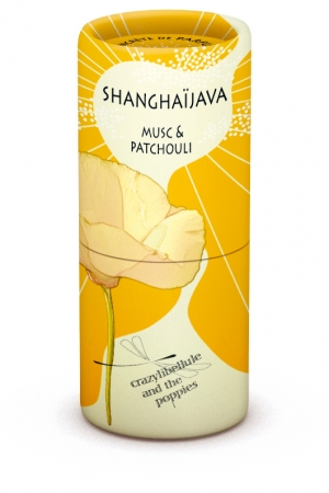 ShanghaiJava Musc & Patchouli Crazylibellule and the Poppies for women and men
