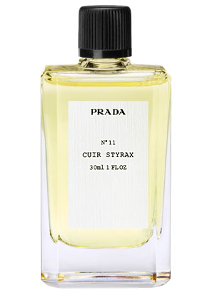 no11 cuir styrax prada perfume a fragrance for women and men 2011. Black Bedroom Furniture Sets. Home Design Ideas
