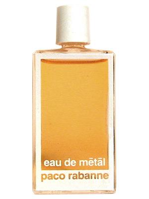 Eau de metal paco rabanne perfume a fragrance for women 1986 for Paco rabanne women s fragrance