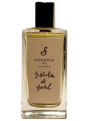 biblioteca de babel fueguia 1833 perfume a fragrance for