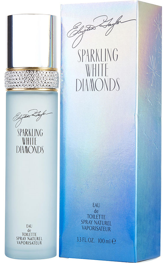 Sparkling White Diamonds Elizabeth Taylor for women