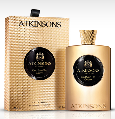oud save the queen atkinsons perfume a fragrance for women 2013. Black Bedroom Furniture Sets. Home Design Ideas