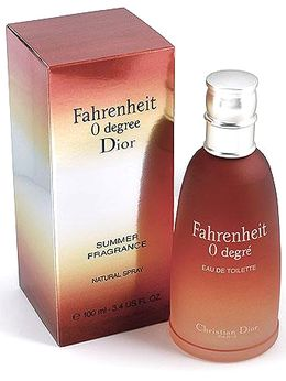 Fahrenheit 0 Degree Dior for men