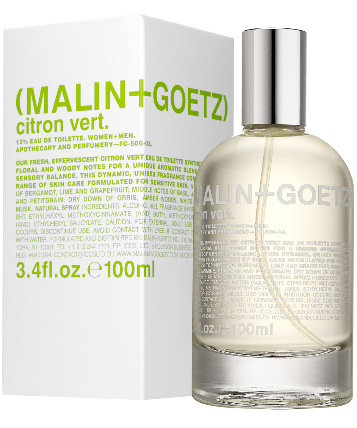 citron vert malin goetz perfume a new fragrance for. Black Bedroom Furniture Sets. Home Design Ideas