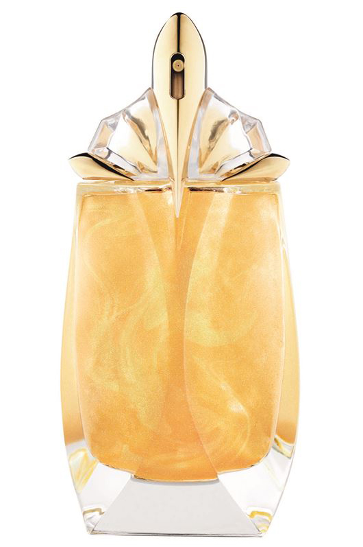alien eau extraordinaire gold shimmer thierry mugler perfume a new fragrance for women 2015. Black Bedroom Furniture Sets. Home Design Ideas