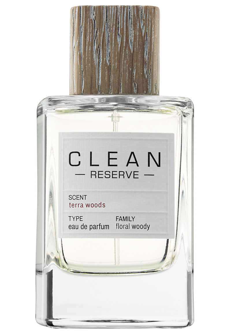 terra woods clean perfume a new fragrance for women and. Black Bedroom Furniture Sets. Home Design Ideas