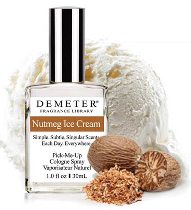 Nutmeg Ice Cream Demeter Fragrance perfume - a new fragrance for women ...