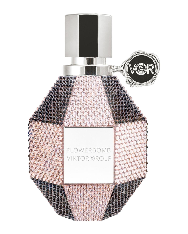 Neiman Marcus Exclusive Swarovski Flower Viktor&Rolf perfume a new
