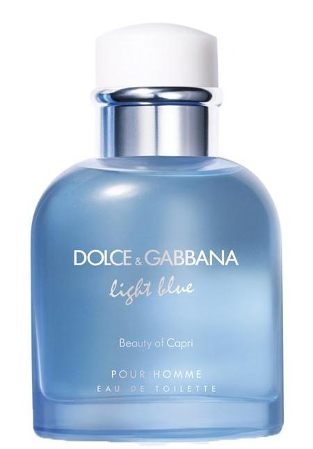 Light Blue Pour Homme Beauty of Capri Dolce&Gabbana ...