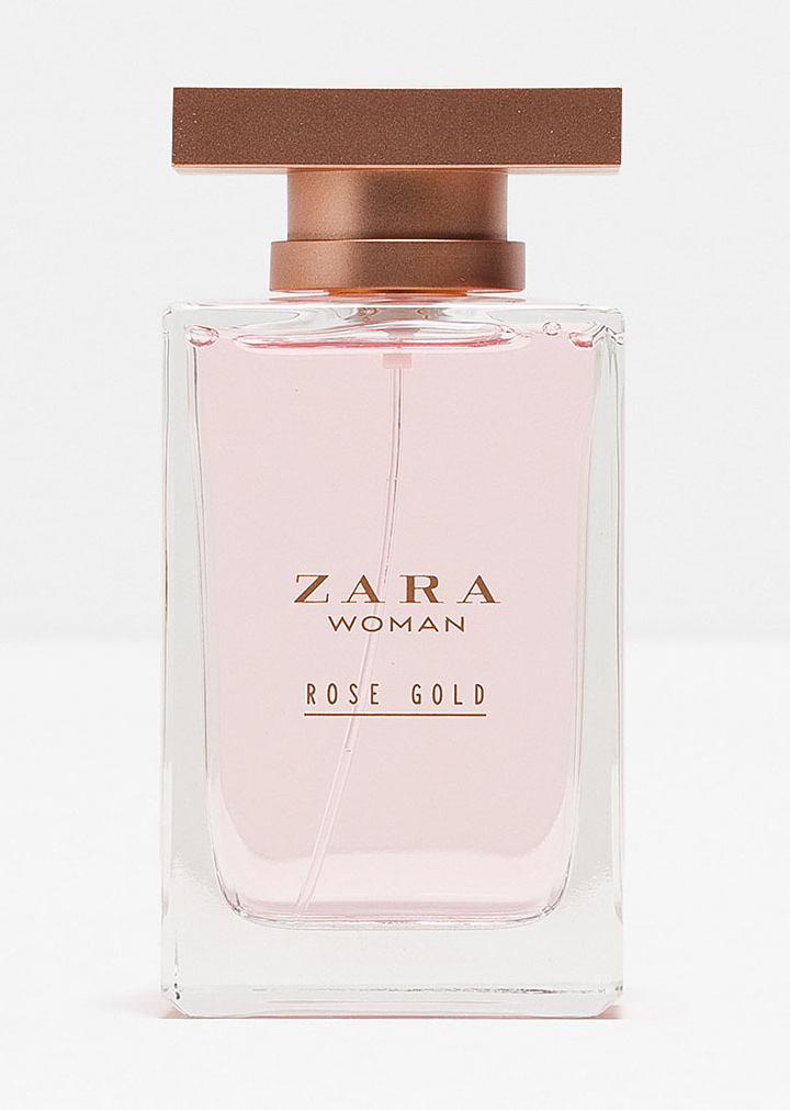 Zara Woman Rose Gold Zara Perfume A New Fragrance For