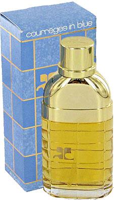 courreges in blue courreges perfume a fragrance for women 1983. Black Bedroom Furniture Sets. Home Design Ideas