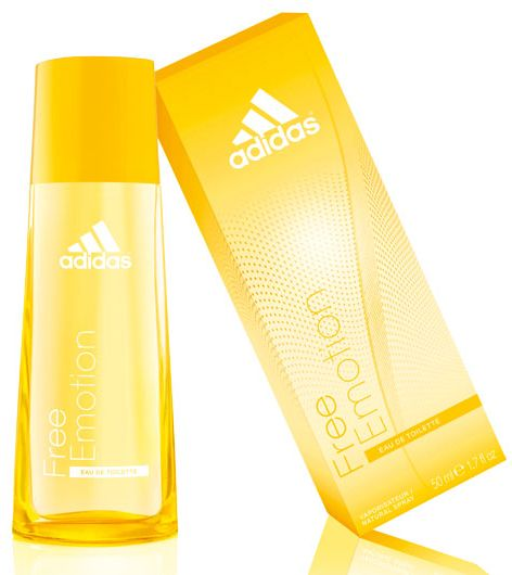 Adidas Perfume Women: Free Emotion Adidas Perfume