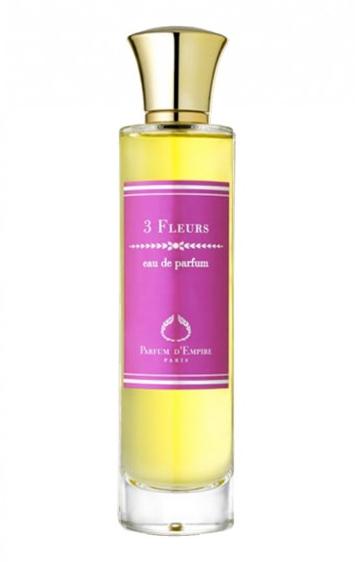 3 fleurs parfum d empire perfume a fragrance for women 2009. Black Bedroom Furniture Sets. Home Design Ideas