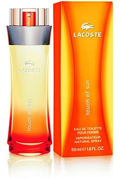 Touch of Sun  Lacoste for women
