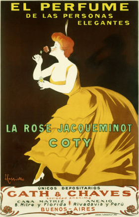 La Rose Jacqueminot Coty for women