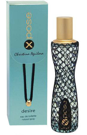 X Pose Desire Christina Aguilera for women