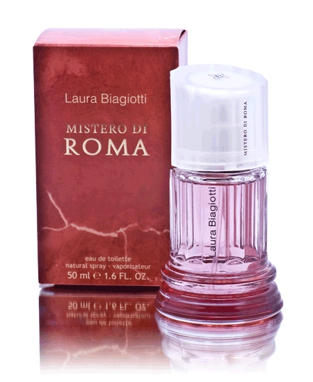 mistero di roma donna laura biagiotti perfume a. Black Bedroom Furniture Sets. Home Design Ideas