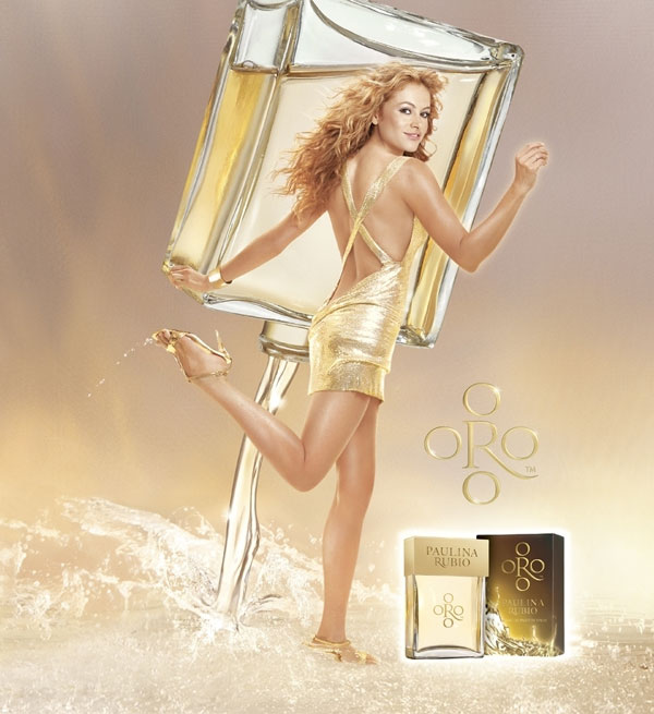 Coffee Beans Online >> Oro Paulina Rubio perfume - a fragrance for women 2009