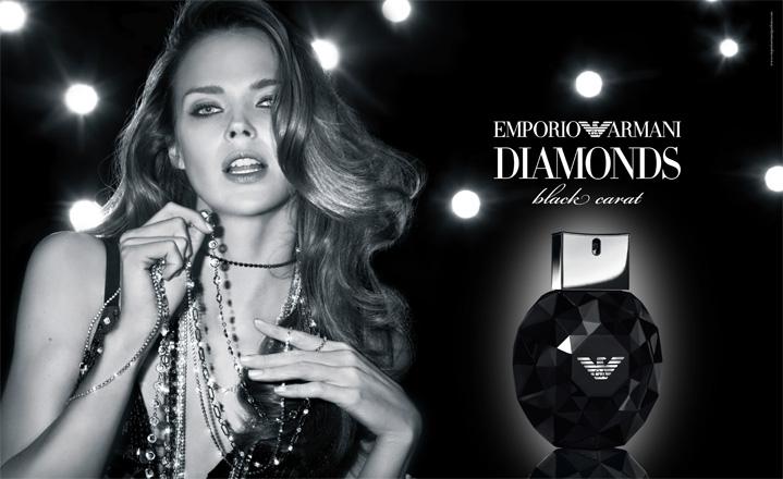 emporio armani diamonds black carat for her giorgio armani