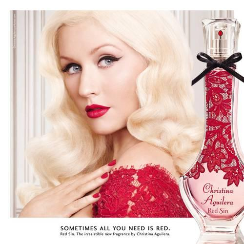 Red Sin Christina Aguilera Perfume A New Fragrance For