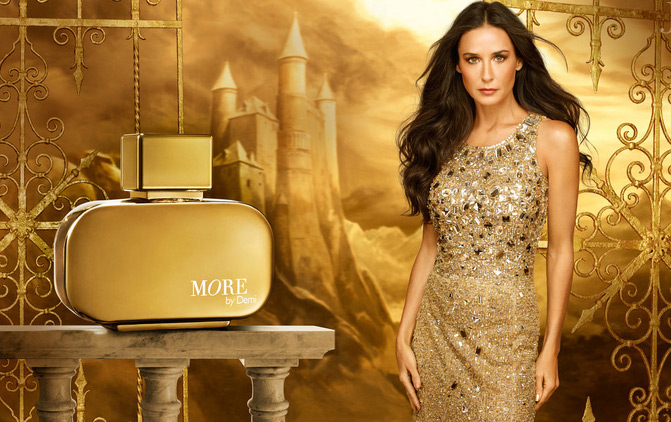 Demi Moore uses More by Demi (Eau de Perfume )