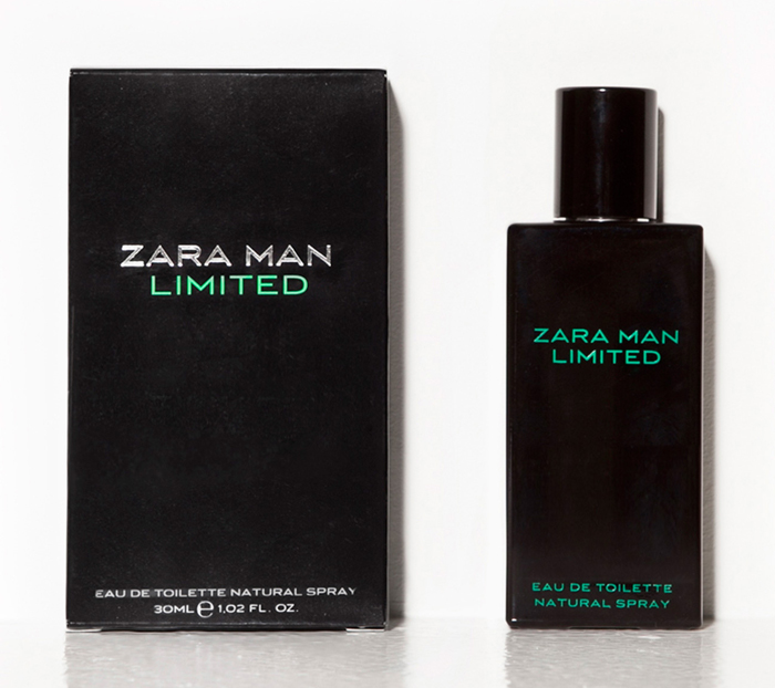 zara man limited zara cologne een geur voor heren. Black Bedroom Furniture Sets. Home Design Ideas