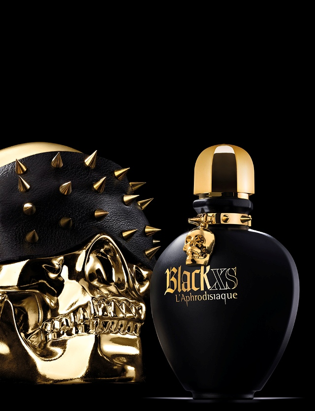 Black xs l 39 aphrodisiaque for women paco rabanne for women for Perfume black excess