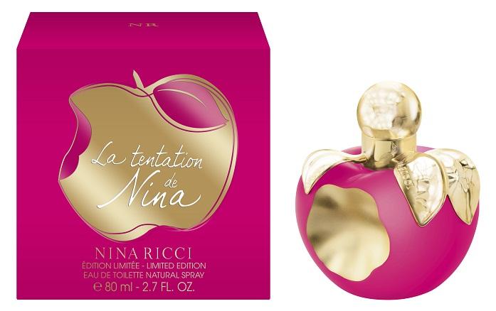 la tentation de nina nina ricci perfume a new fragrance. Black Bedroom Furniture Sets. Home Design Ideas