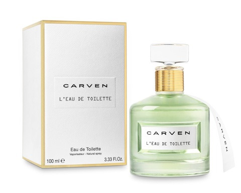 l eau de toilette carven perfume a new fragrance for women 2014. Black Bedroom Furniture Sets. Home Design Ideas