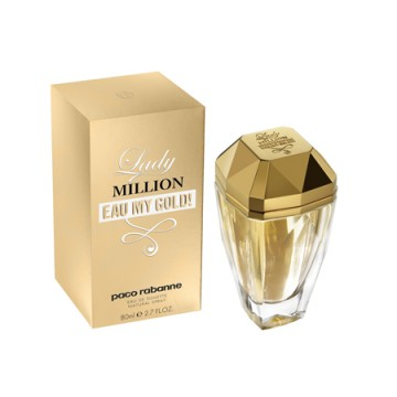 lady million eau my gold paco rabanne perfume a new. Black Bedroom Furniture Sets. Home Design Ideas