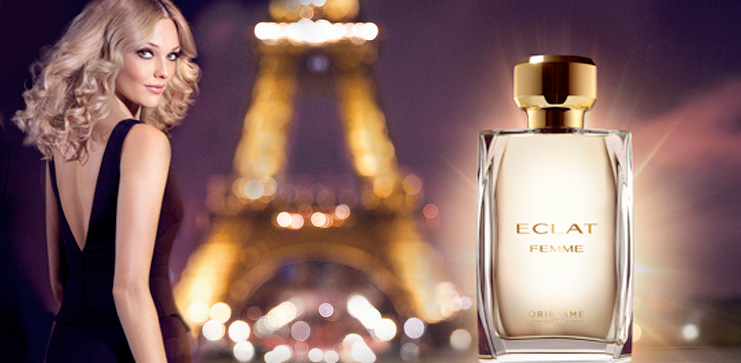 Eclat Femme Oriflame perfume - a new fragrance for women 2014