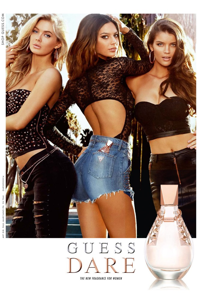 Guess Dare Eau de Toilette advertisment.jpeg