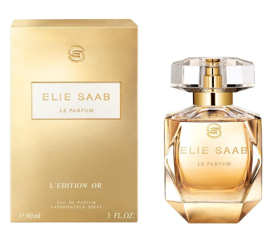 le parfum l 39 edition or elie saab perfume a new fragrance. Black Bedroom Furniture Sets. Home Design Ideas