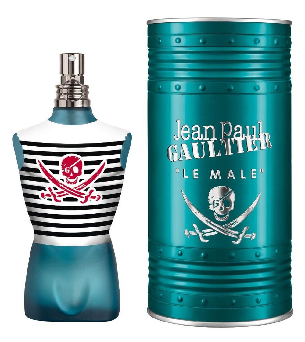 le male pirate edition jean paul gaultier cologne a new fragrance for men 2015. Black Bedroom Furniture Sets. Home Design Ideas