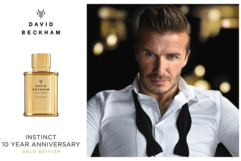 Instinct Gold Edition ... David Beckham Cologne